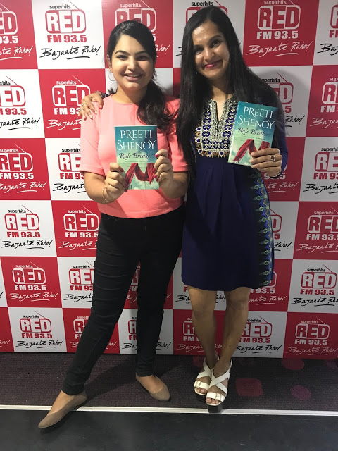 The Rule Breakers by Preeti Shenoy, Out in stores now! Also let's meet in these cities! :)