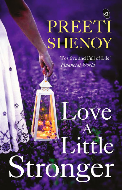 Love a Little stronger. Preeti Shenoy's next book  releases on April 27th!