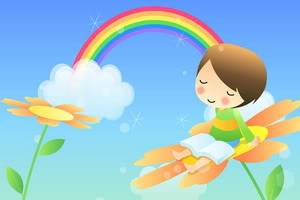 On Rainbows,Fairies and being a Mom.